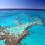 Das Great Barrier Reef aus der Luft