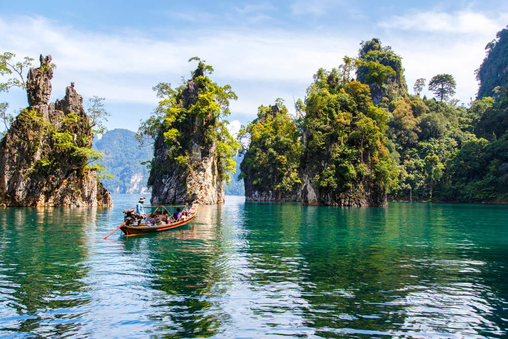Khao Sok Nationalpark in Surat Thani, Thailand