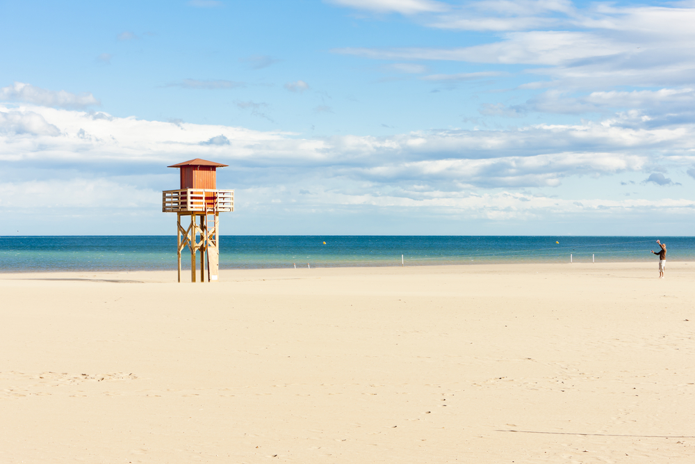 Narbonne Plage in Frankreich