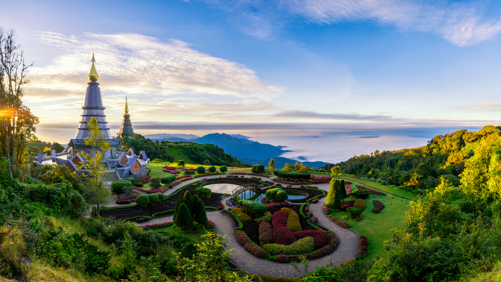 Der Nationalpark Doi Inthanon in Chiang Mai