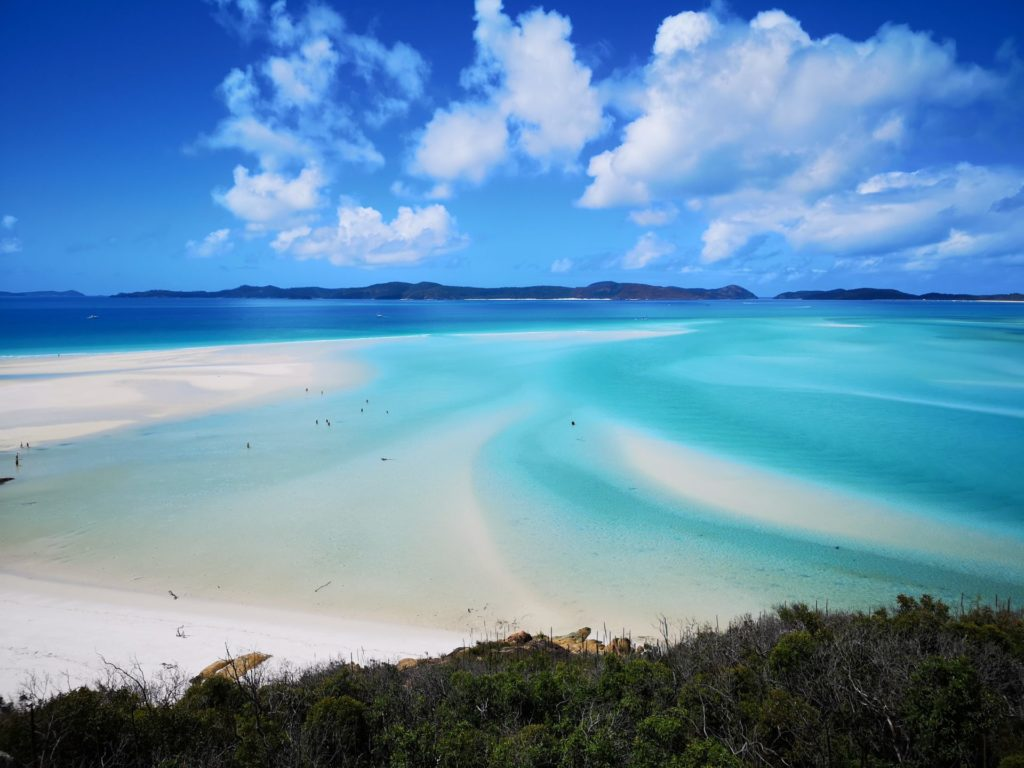 Strand auf Whitsunday Islands