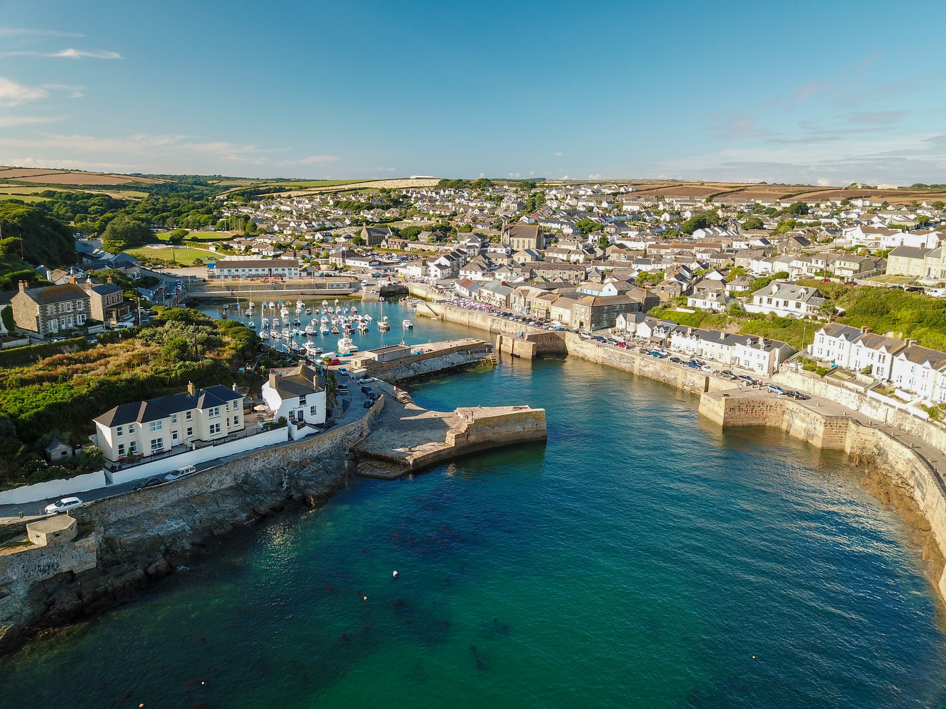 England, Cornwall, Porthleven