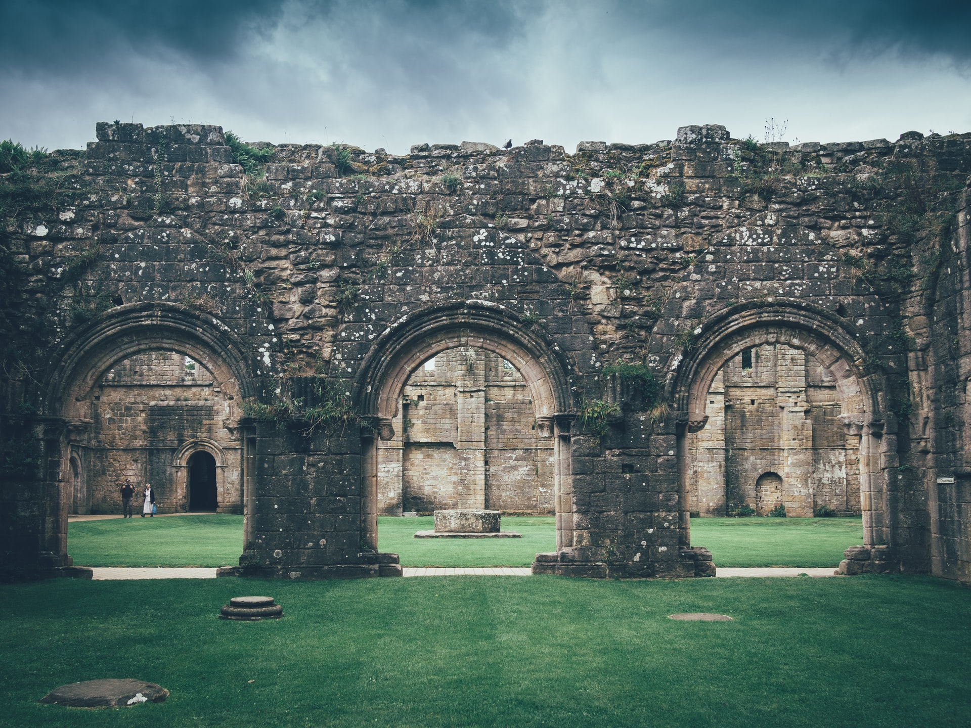England, Fountains Abbey