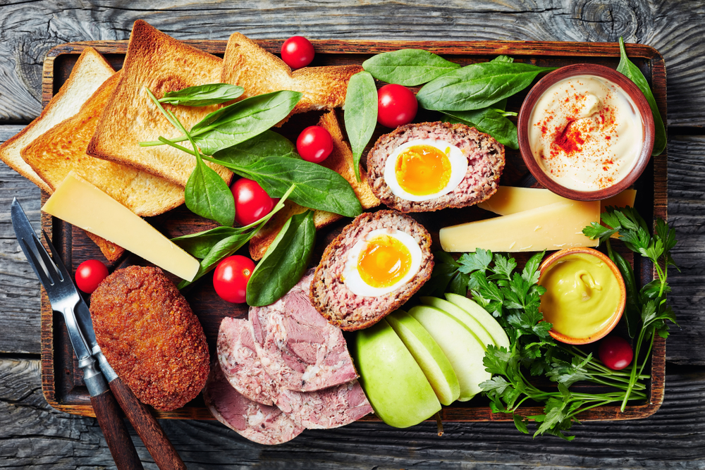 England, Ploughman's Lunch