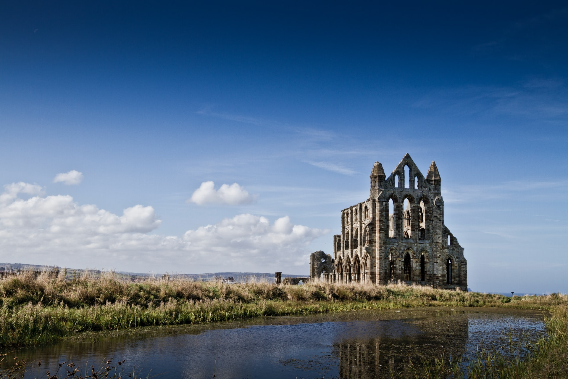 England, Whitby Abbey