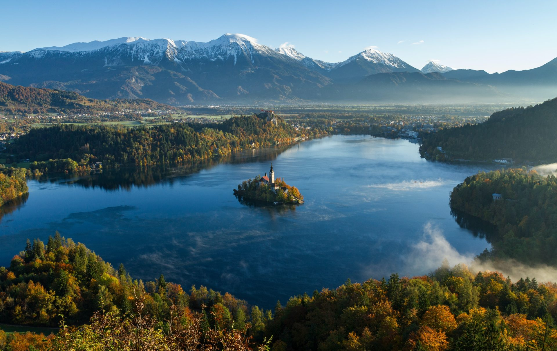 Lake Bled in Slowenien
