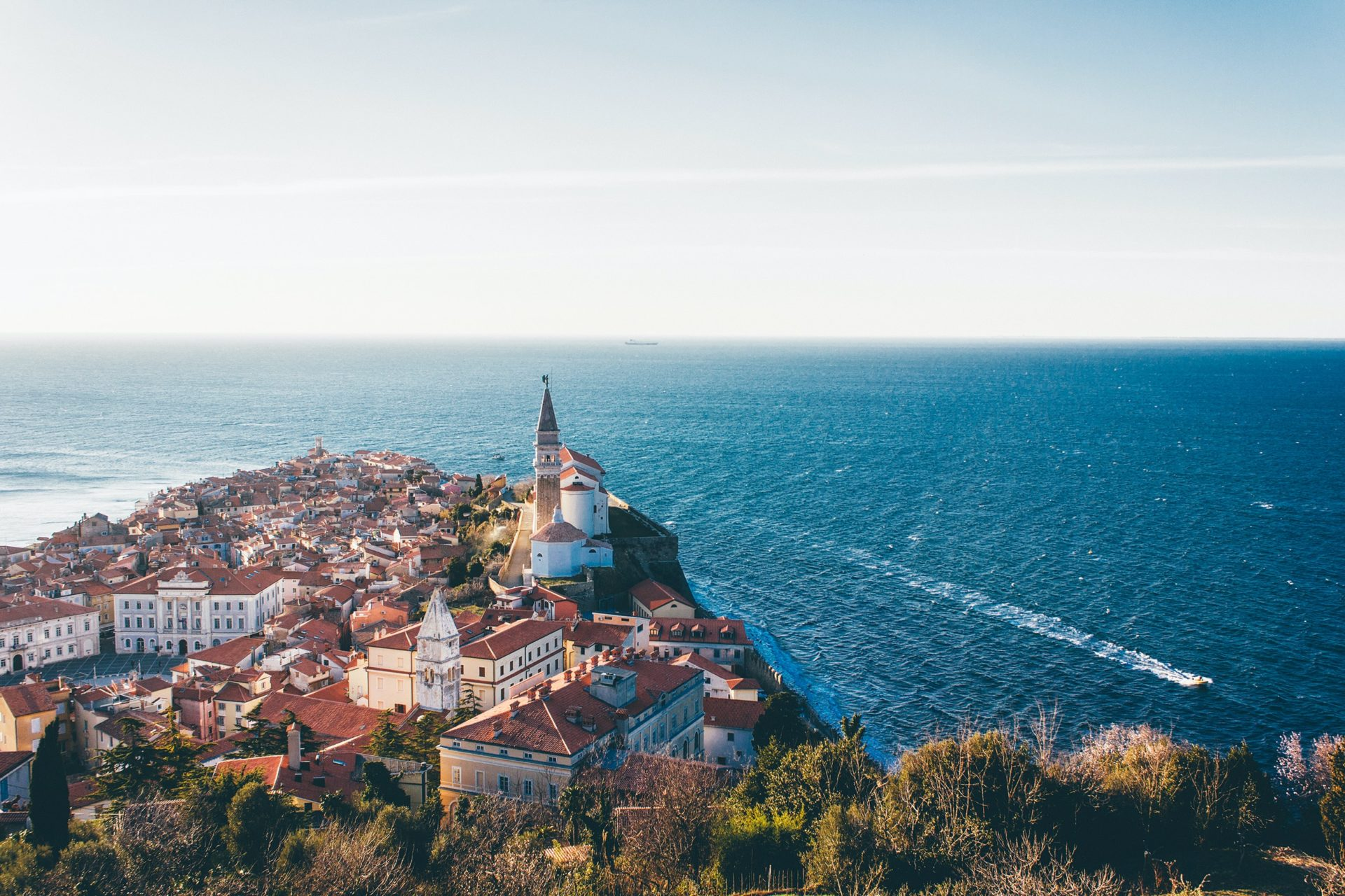 Piran in Slowenien