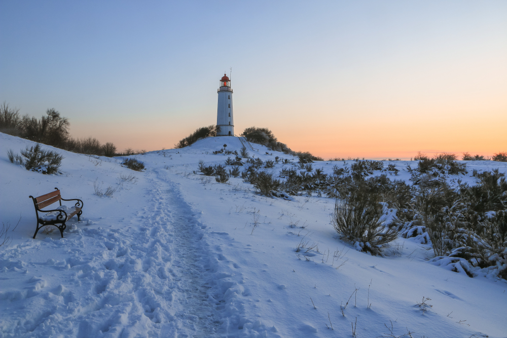 Winter auf Hiddensee