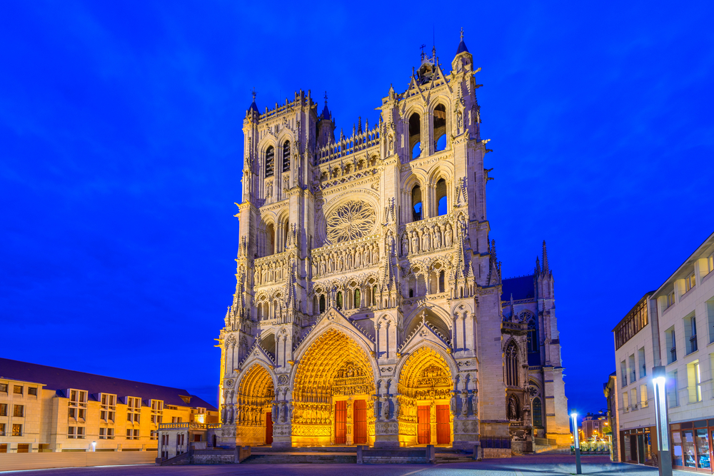 Frankreich, Kathedrale in Amiens