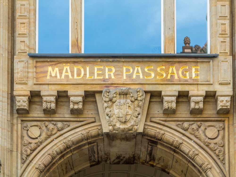 Mädler-Passage in Leipzig