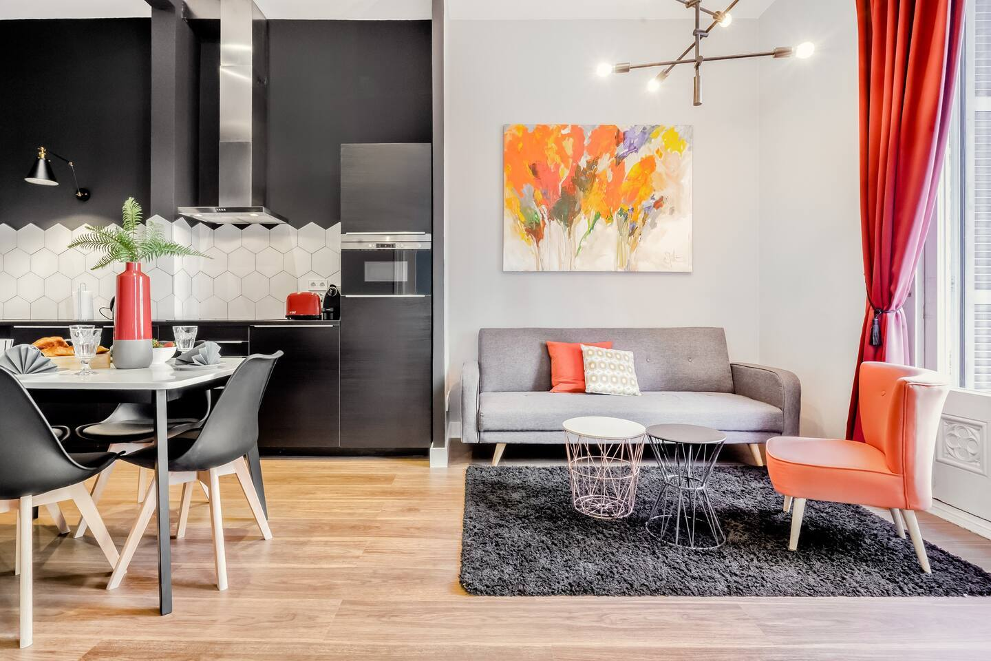 Airbnb zentrales Appartement in Barcelona