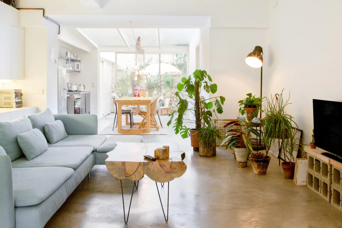 Airbnb Bohemian Styla Appartement in Barcelona