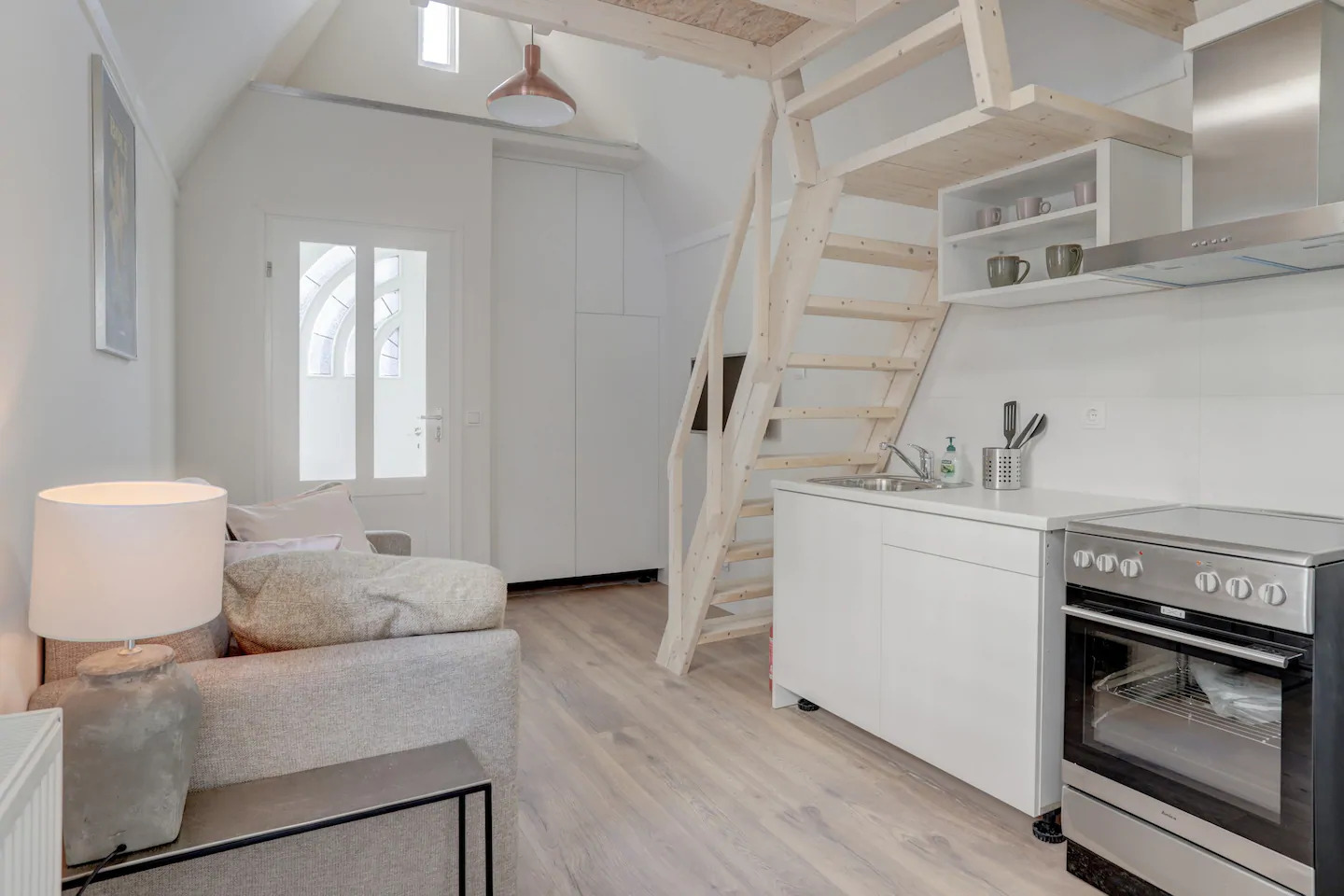 Airbnb Tiny House in Amsterdam