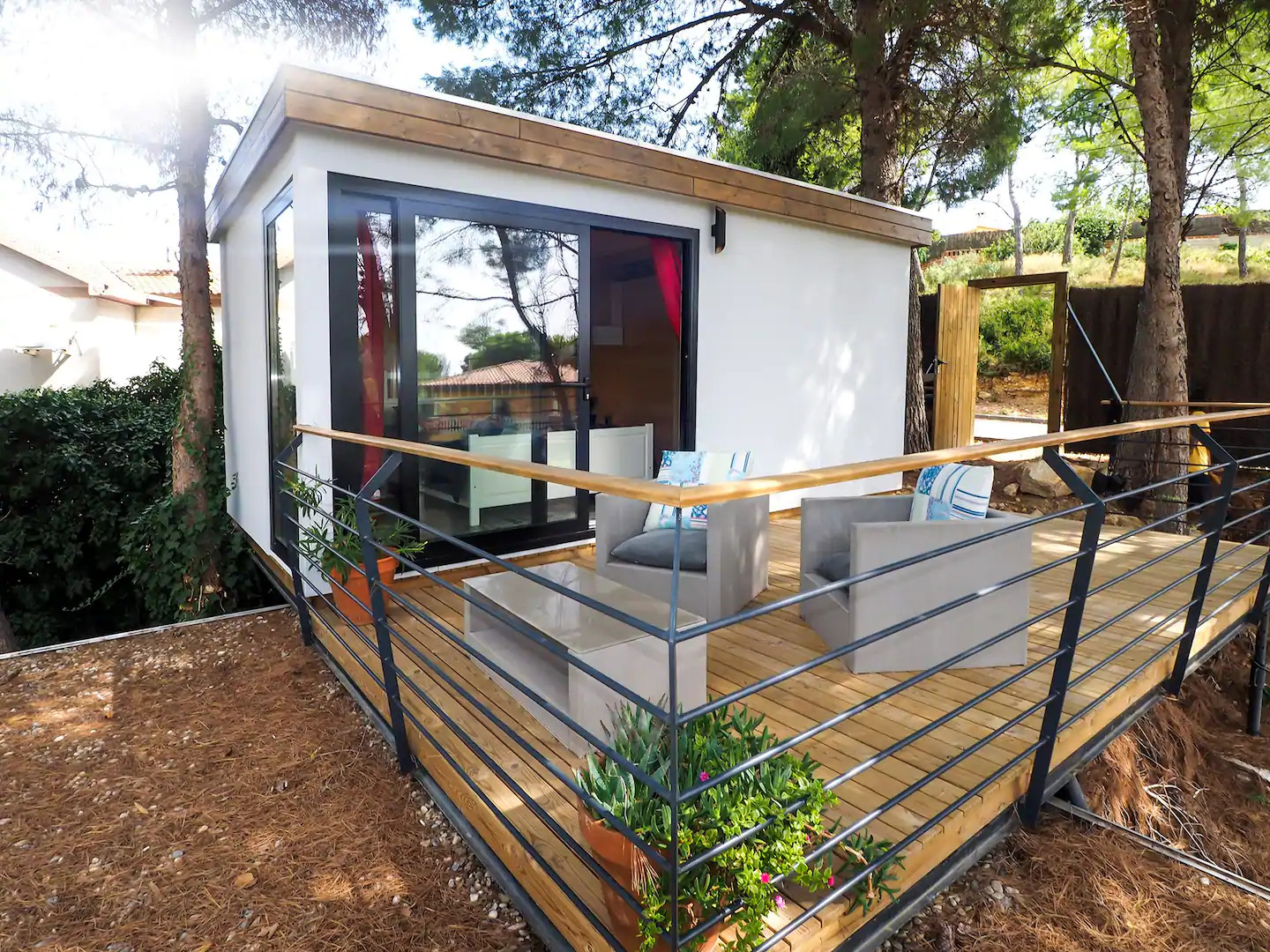 Airbnb Tiny Houses in Barcelona
