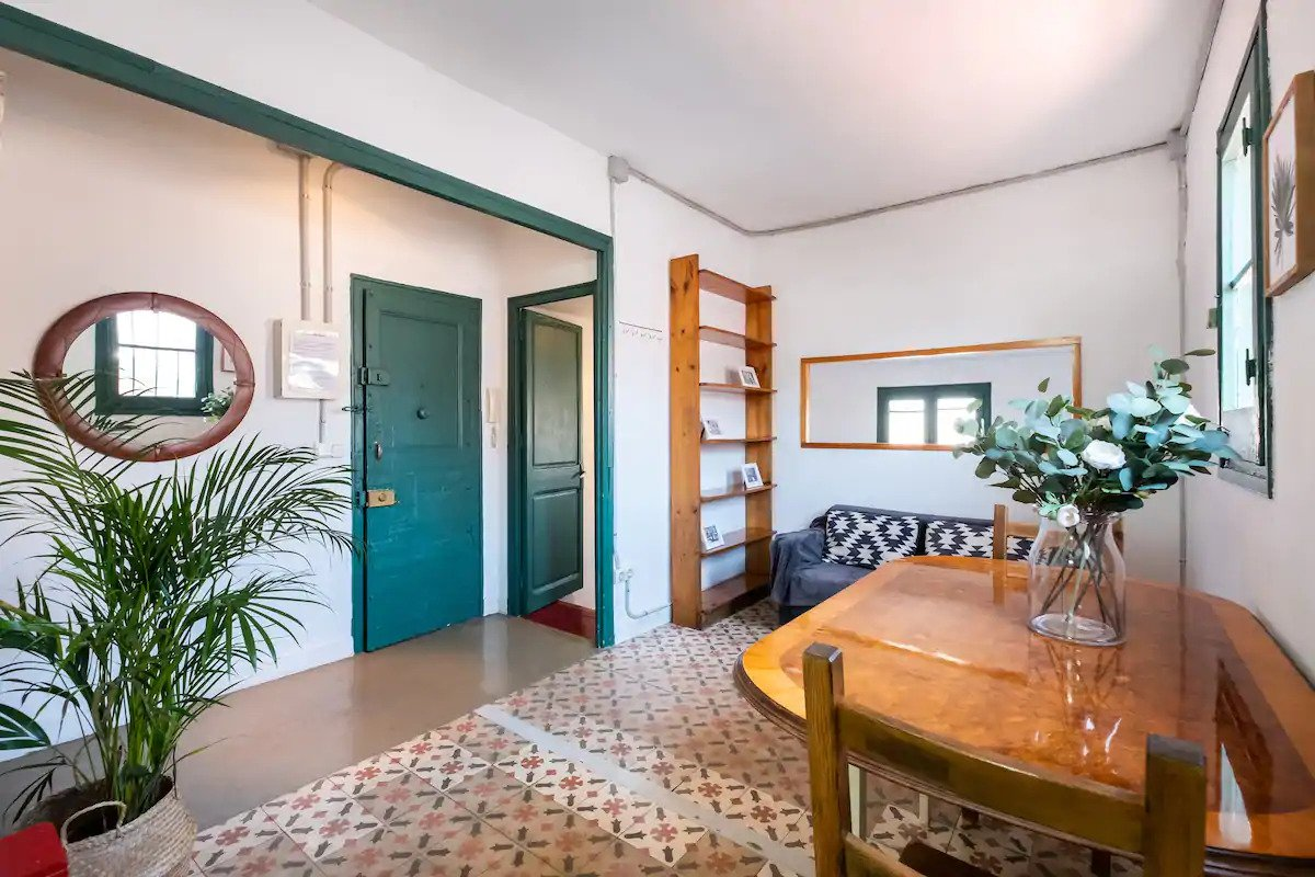 Airbnb Wohnung in Barcelona