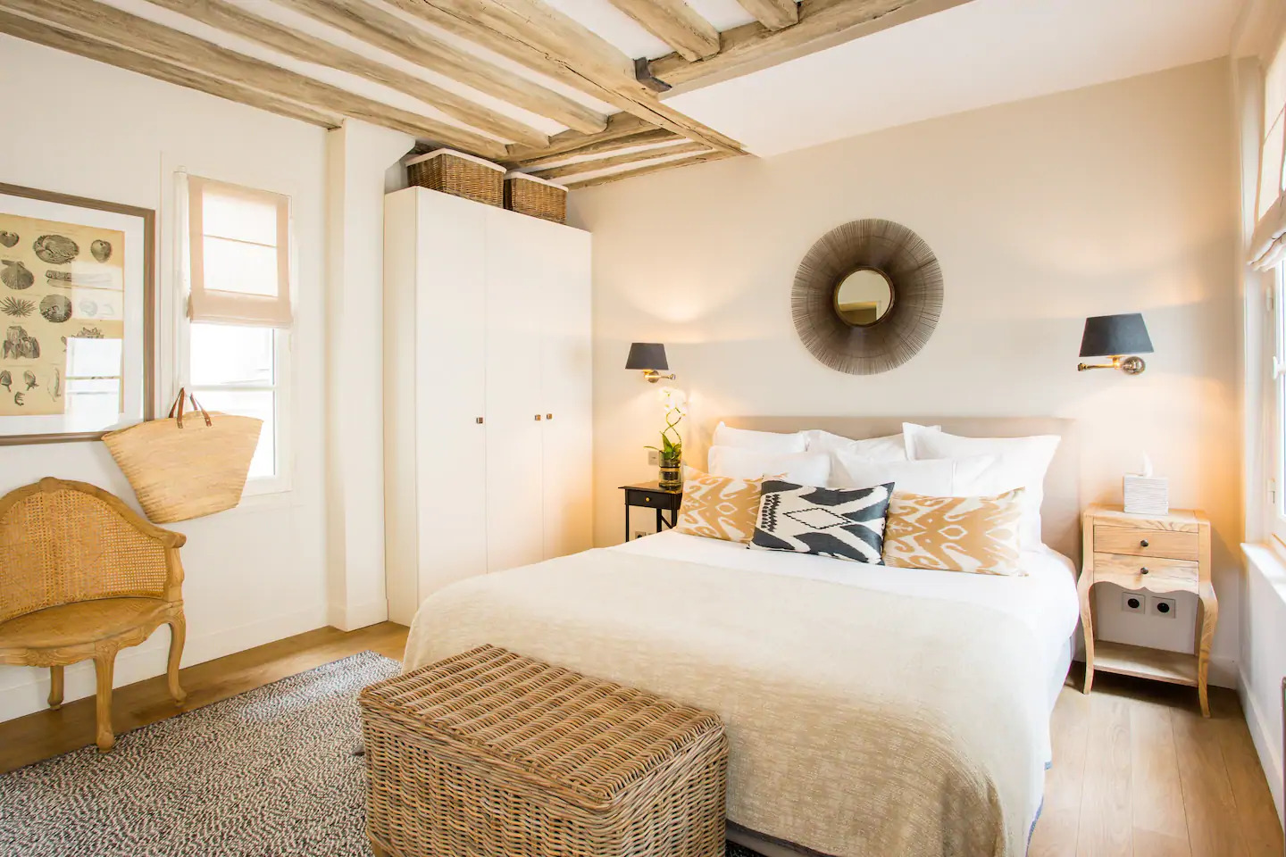 Airbnb Bohemian Style Appartement in Paris