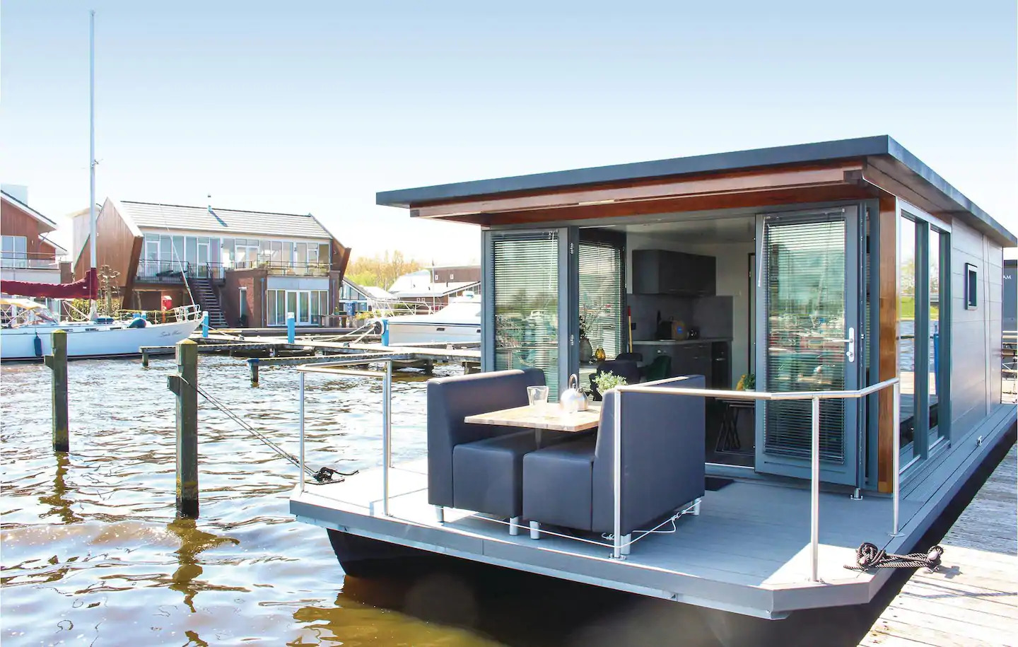 Airbnb Hausboot in Amsterdam