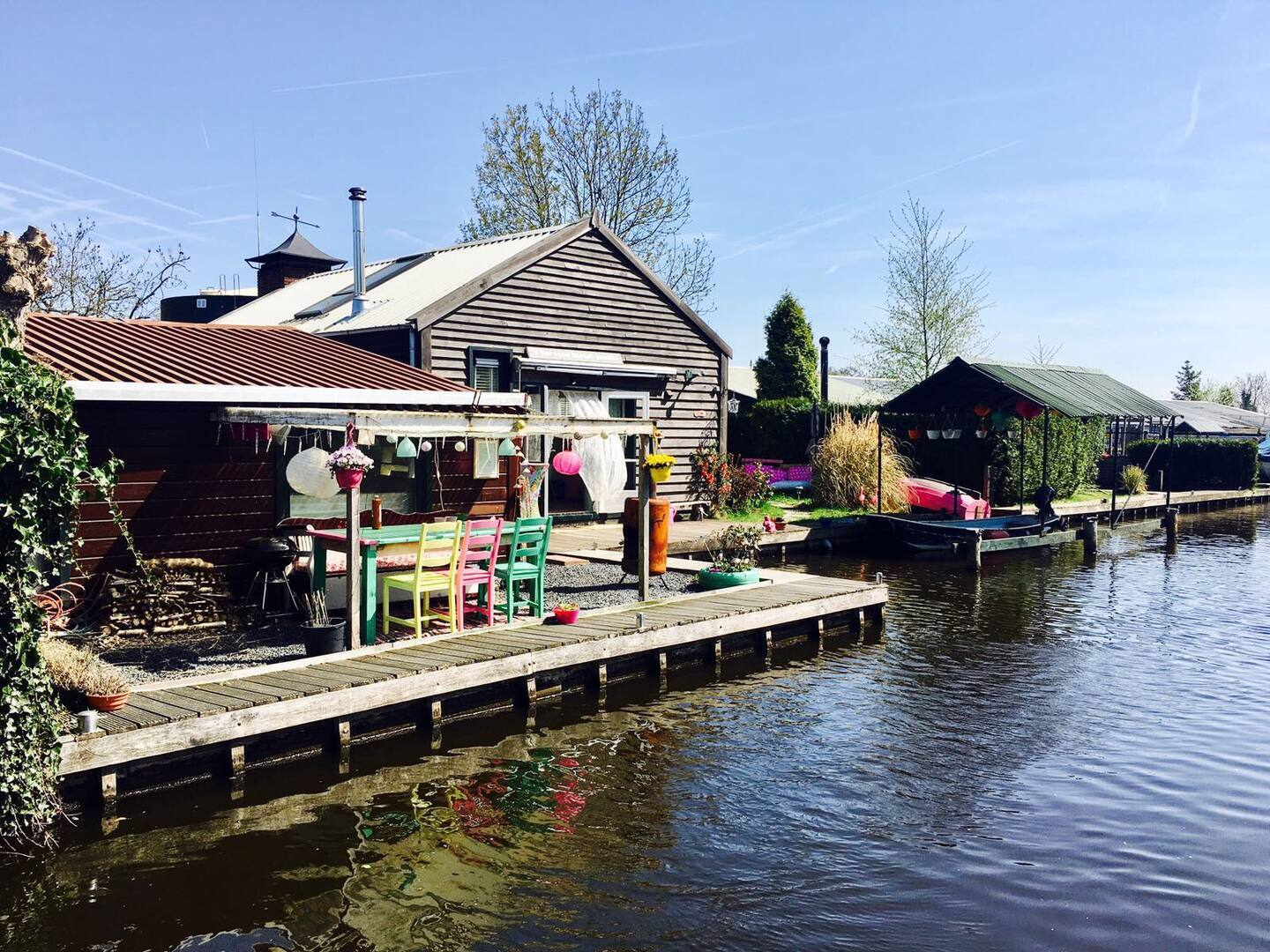 Airbnb Insel in Amsterdam
