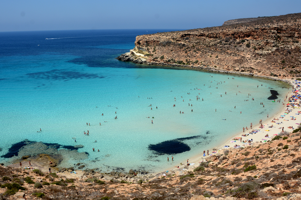 Italien, Sizilien, Lampedusa, Rabbit Beach