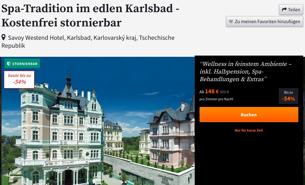 Wellness in Karlsbad