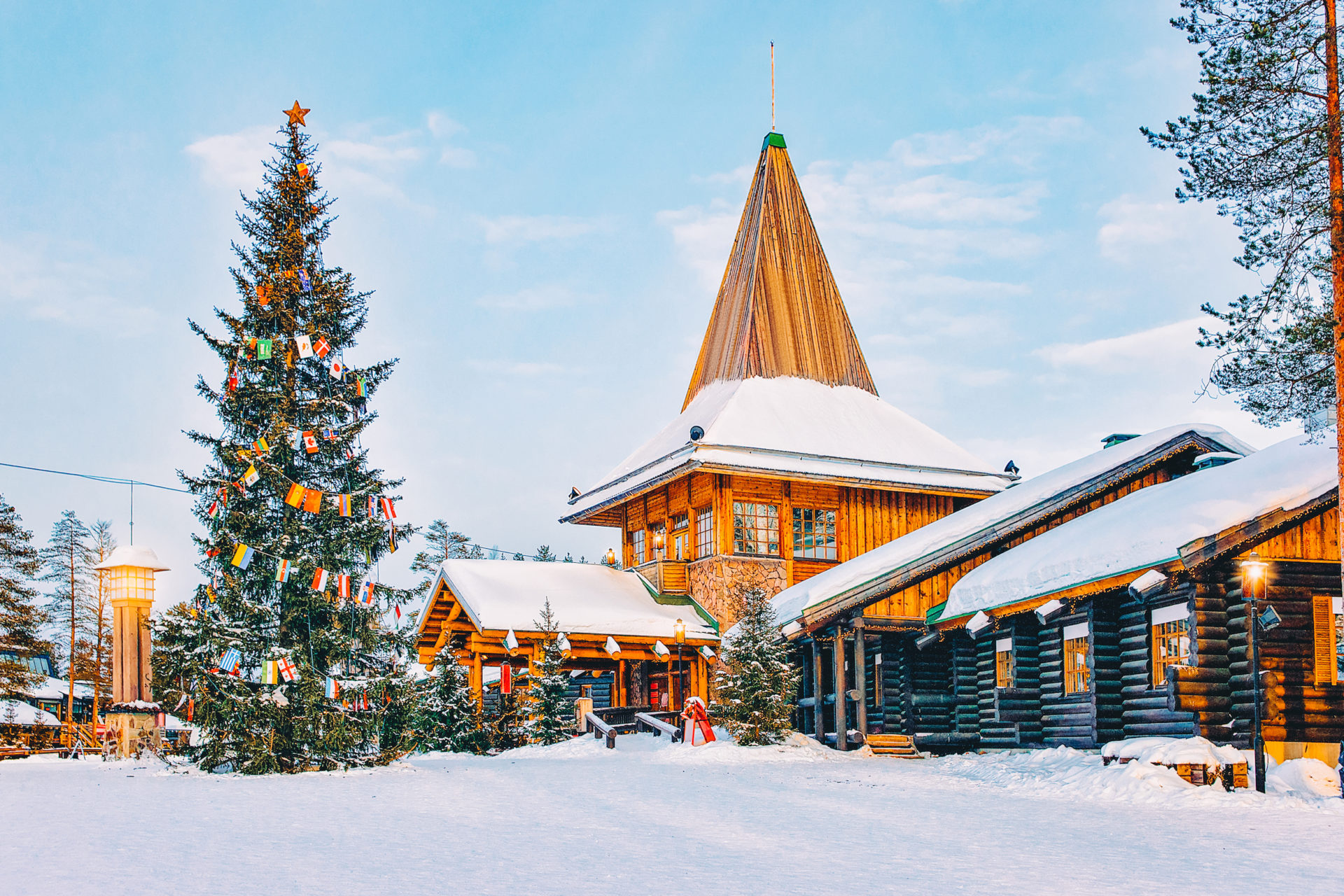 Santa Claus Village in Finnland