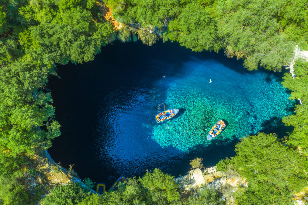 Griechenland, Kefalonia, Melissani See