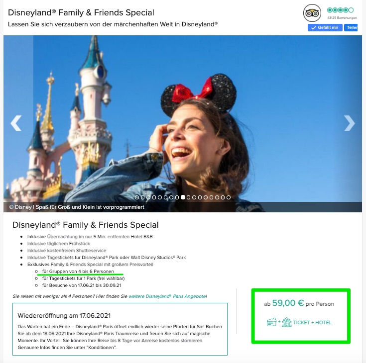 Family and Friends Special Disneyland Paris